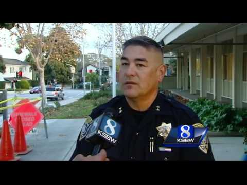 Monterey Cannery Row murder suspect at large