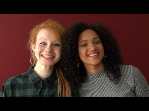 Twin Teens: One Black, One White, Celebrate Their Differences