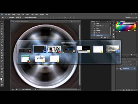 Photoshop and 3ds max fast wheel spin tutorial