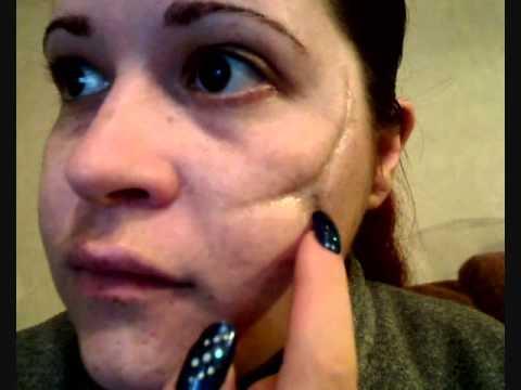 Halloween FX tutorial - old scar's