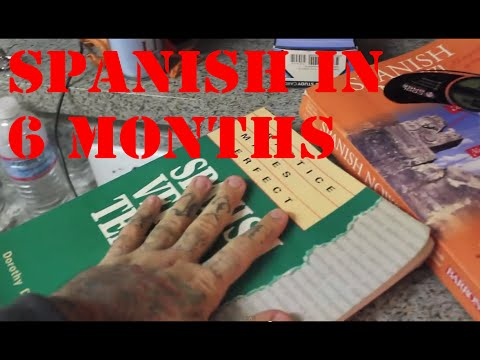 How to learn Spanish FAST (In 6 Months or Less)!