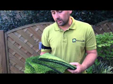 What is artificial grass and the different grades
