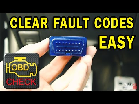 How to easy Read/Clear car Fault Codes [ELM327] OBD II