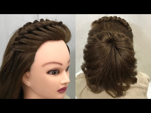 2 Beautiful Hairstyles for Party or Function: Easy Hairstyles