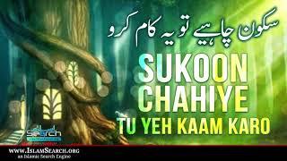 Sukoon Chahiye tu Yeh Kaam Karo ┇ Pareshaniyun Ka Best Solution ┇ IslamSearch
