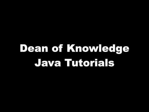 JavaInheritanceVideo