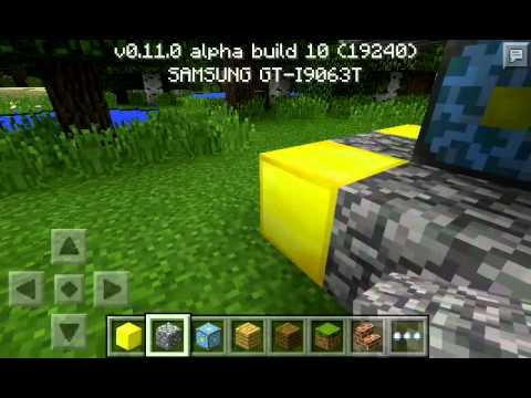 Como ir pro nether ?!! Minecraft PE 0.11.0 (2015)