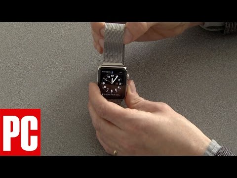 How to Remove the Band on the Apple Watch