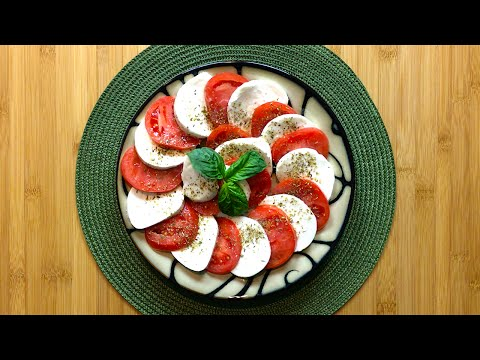 Italian caprese salad - Cooking Simple Recipes