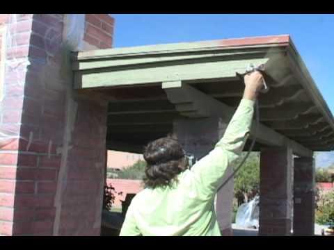 Rock Bottom Painting - Painting a Ramada in Oro Valley Arizona