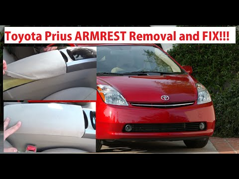 Toyota Prius Armrest Removal and Fixing. Toyota Prius XW20 2003-2009