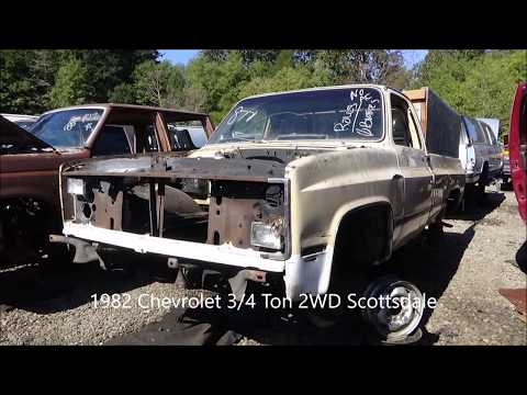 Square Body in the Junk Yard Episode 9