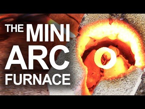 Mini Arc Furnace (Arc Reactor Technology IRL)