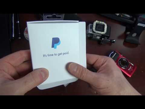 Paypal new card reader