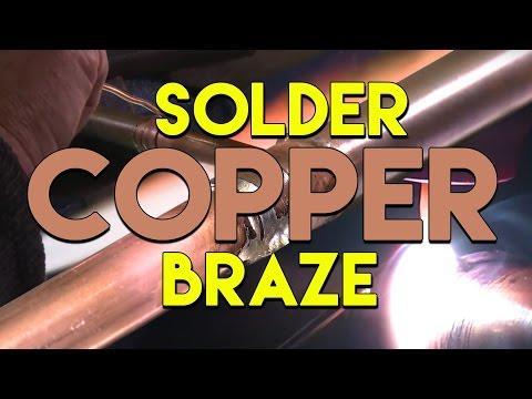 🔥 TIG Brazing VS Soldering Copper Pipe | TIG Time