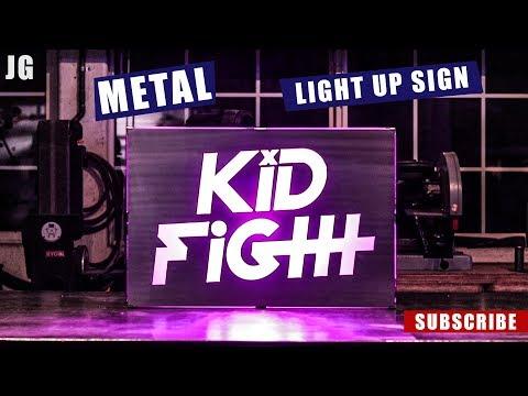 LED Light Up Metal Sign | JIMBO'S GARAGE