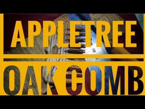 Comb DIY. Apple tree+oak.