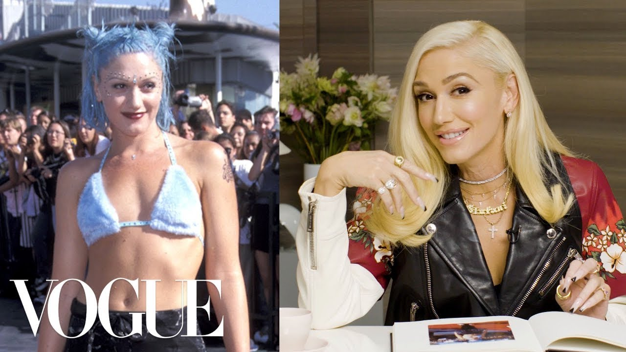 Gwen Stefani Breaks Down 6 Looks From 1995 to Now   Life in Looks   Vogue