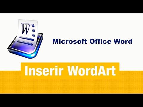 Como inserir WordArt? [How to insert  WordArt?]