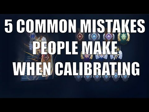 5 Common Mistakes People Make When Calibrating for NEW RANK SYSTEM