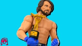 AJ Styles WWE Smackdown Live Mattel Toy RARE CHASE SLAMMY VARIANT Basic 68.5 Review!!