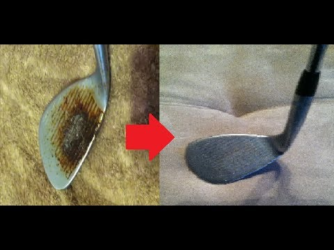 How To Remove Rust From Golf Clubs Using Vinegar