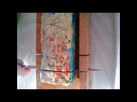 Making hot process soap