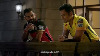 VIVO IPL: Chennai Super Kings versus Royal Challengers Bangalore