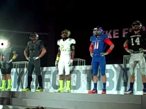 2010 Nike Football Media Summit - Nike Introduces 2011 Football Apparel