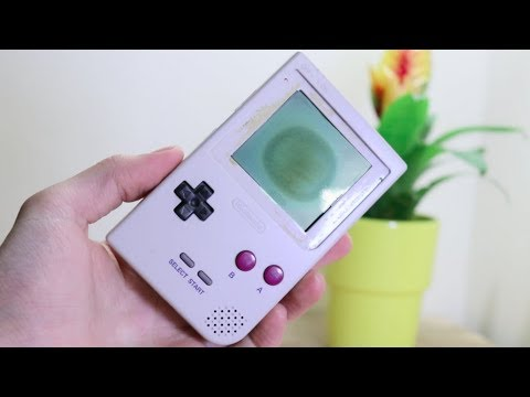 How To Repair GameBoy Screen Burn!