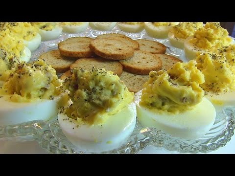 Betty's Bacon-Horseradish Deviled Eggs  --  Easter