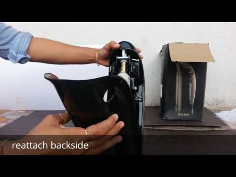How to Change CO2 Gas Cylinder of soda maker