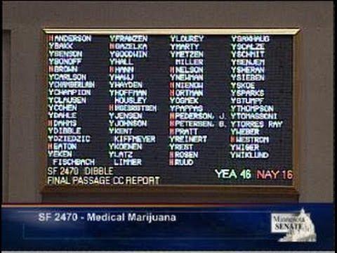 Senate Debates Limited Medical Marijuana Plan
