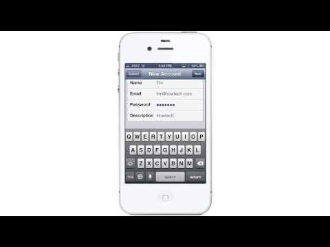 How to Setup IMAP for iPhone