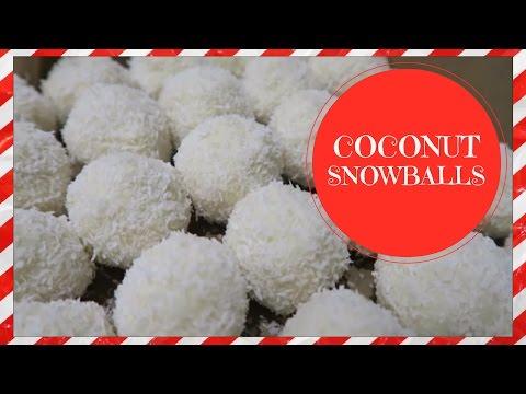 COCONUT SNOWBALLS | VEGAN CHRISTMAS RECIPE