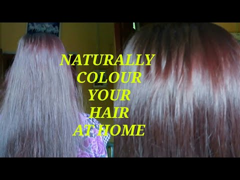 How to Colour Your Hair At Home Naturally !!