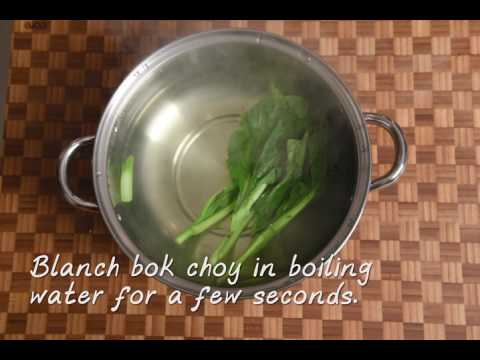 Sauteed Garlic Bok Choy with Chef Joe