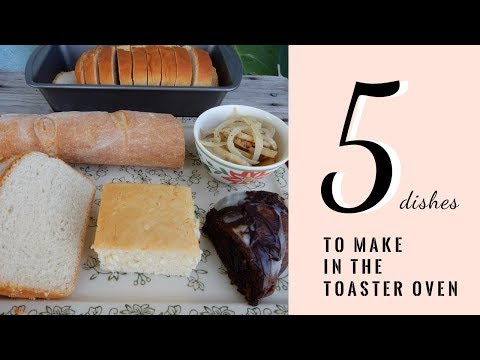 5 Toaster Oven Recipes | Featuring Chocolate Zucchini Bundt Cake