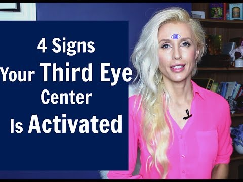 4 Signs Your THIRD EYE Center is ACTIVATED