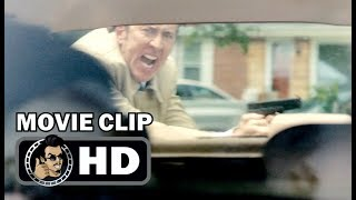 VENGEANCE: A LOVE STORY Movie Clip - Shoot Out (2017) Nicolas Cage Thriller Film HD