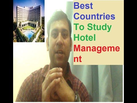 Best Countries To Study Hotel Management