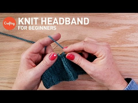 How to Knit a Headband for Beginners | Craftsy Knitting Tutorial