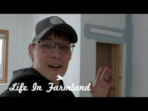 Finishing Up The Hidden Compartment In The Wall  : Vlog