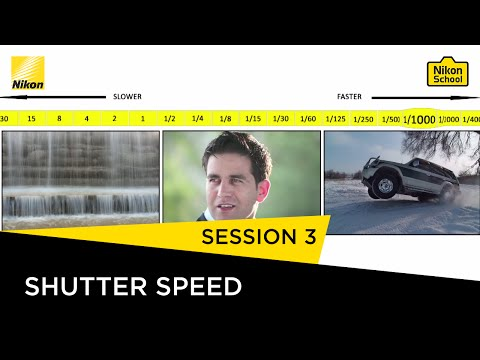 Nikon School D-SLR Tutorials - Shutter Speed - Session 3