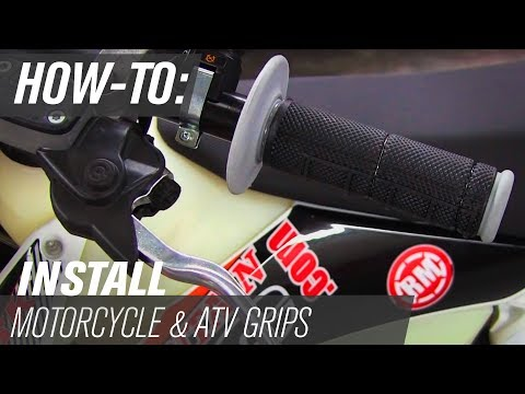 How-To: Remove and Install Dirt Bike and ATV Grips