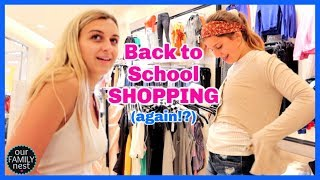 More Back to School Shopping!! Will this EVER end?