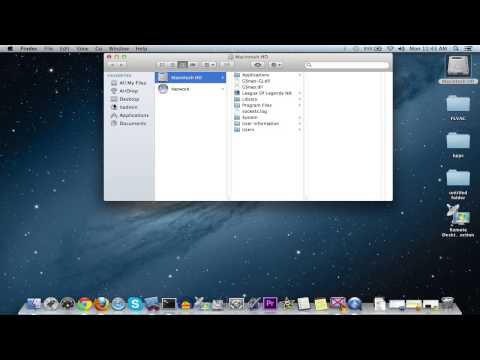 Show User Library Directory in Mac OS X 10.7 Lion & 10.8 Mountain Lion