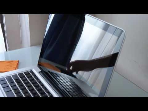 How I clean my macbook
