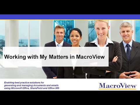 WorkingWithMyMattersinMacroView