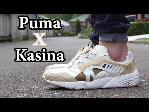 Puma CREAM x Kasina Disc Blaze On-feet Review W/ Close up